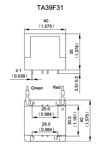 relay transient protection current transformers